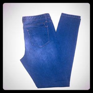 Mossimo Size 10 Blue Premium Denim Leggings